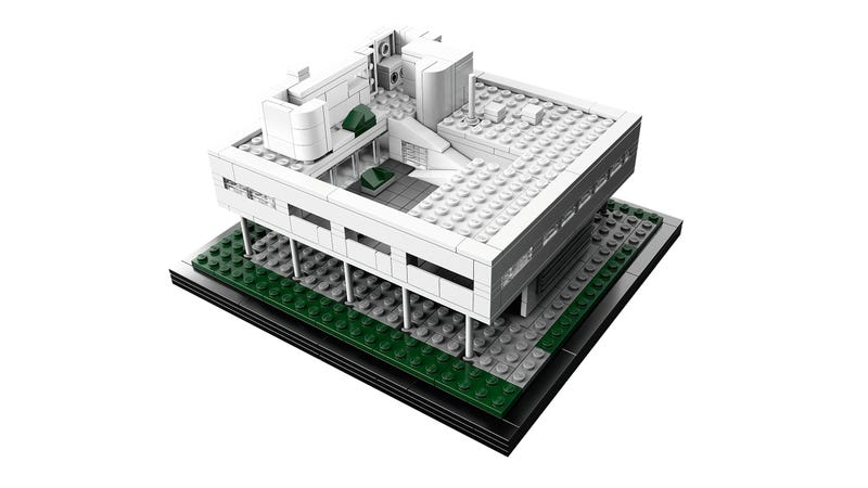 New Villa Savoye Set Is a Beautiful Addition to the LEGO Architecture Line