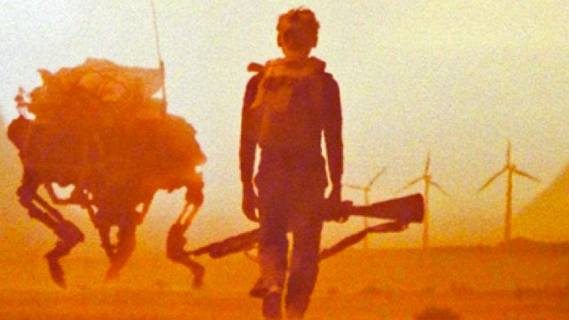 Your first look at the dystopian desert world of Young Ones