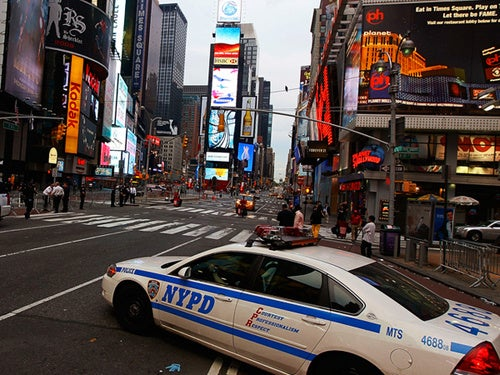 Times Square Evacuated, Cleared, Again