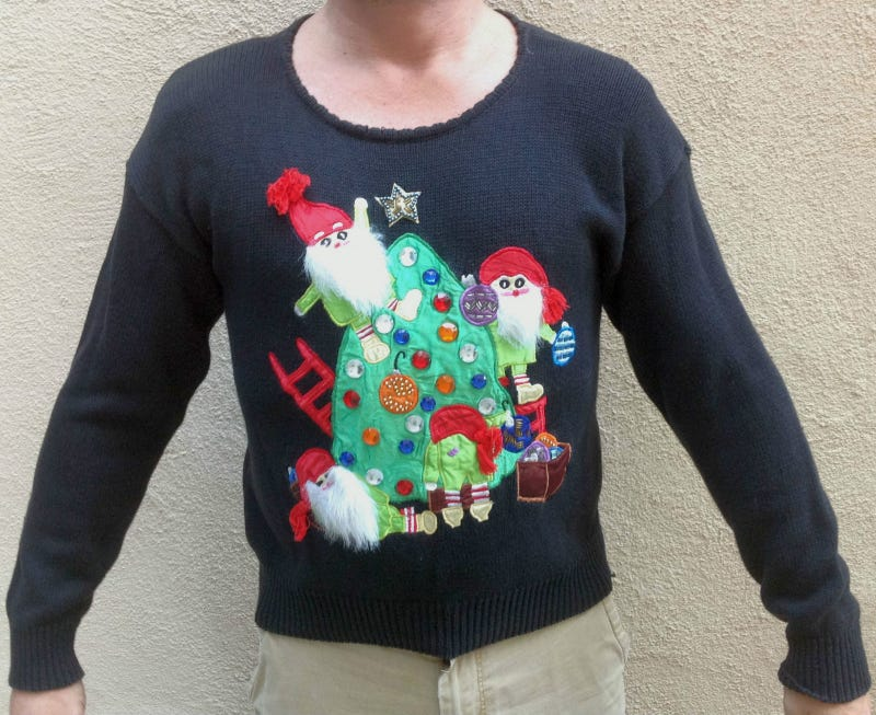 8 Awesome* Teched-Out Christmas Sweaters