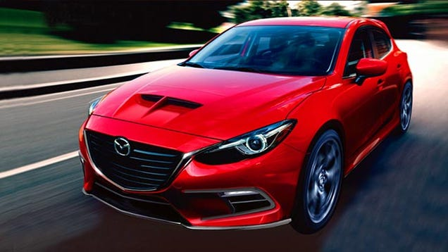 Mazda Mazdaspeed Concept Cars Drive Away