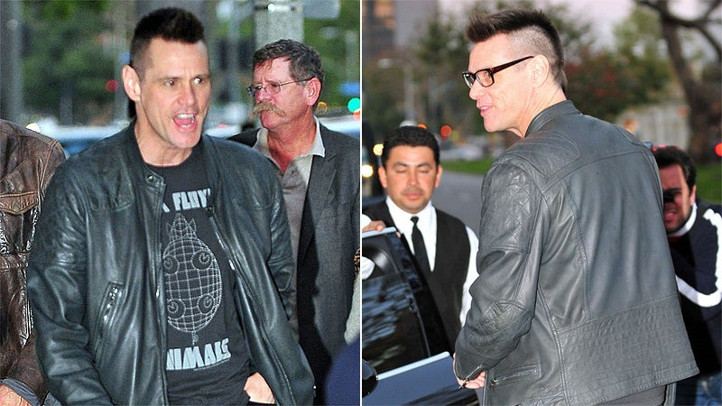 Jim Carrey Got a Really Stupid Haircut