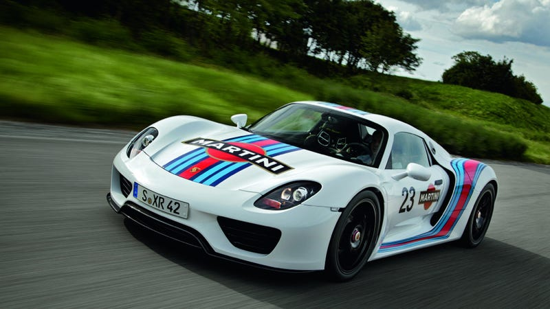 Porsche: The 918 Spyder Isn't Sold Out Yet, But It Totes Will Be