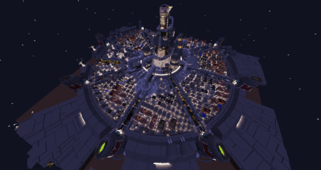 It Took Two Years To Make Final Fantasy VII's Midgar In Minecraft