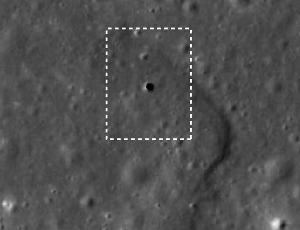 Newly Discovered Hole On Moon Leads To Network Of Tubes