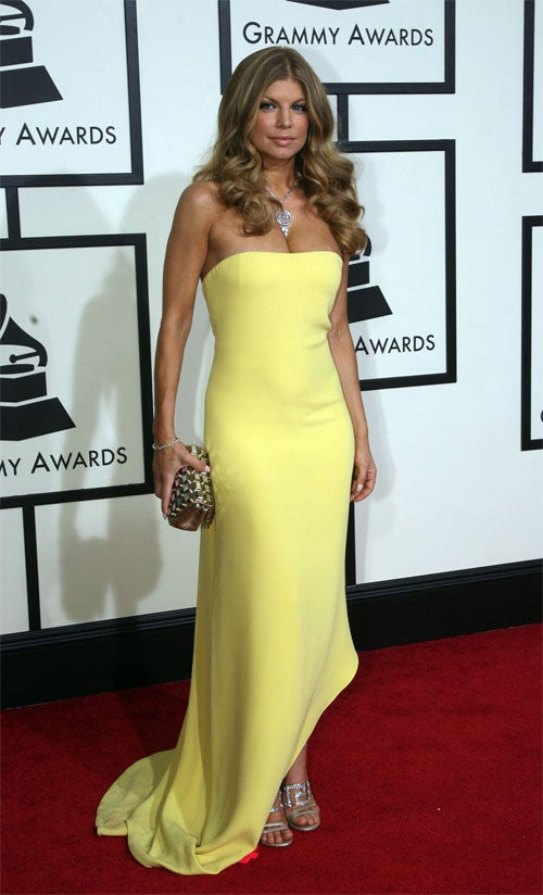 Grammy Awards Fashions Hit The High Notes