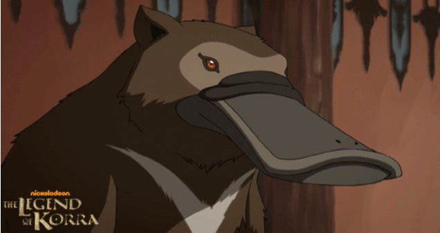 Korra invites us to an adorable Flying Bison breakfast party