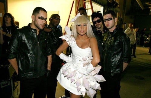 Lady GaGa And Her Band Of Masked Men