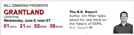 Only 2,752 Minutes Until Grantland Launches, Give Or Take