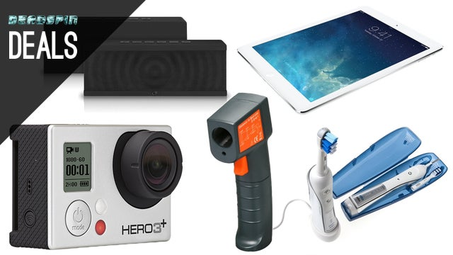 Deals: GoPro with Free Gift Card, Bluetooth Speaker, IR Thermometer