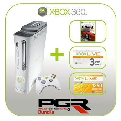 Xbox 360 PGR Bundle Confirmed - Preorders Available