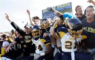 Hugh: Toledo's Record Against Michigan Improves To 1-0