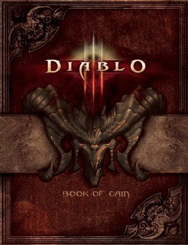 At Least Diablo III, the Book, Will Be Out This Year