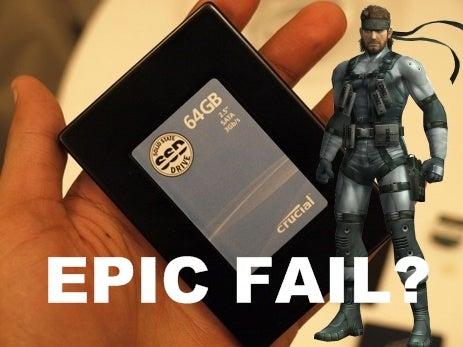 20 Percent of SSD Notebooks Failing?