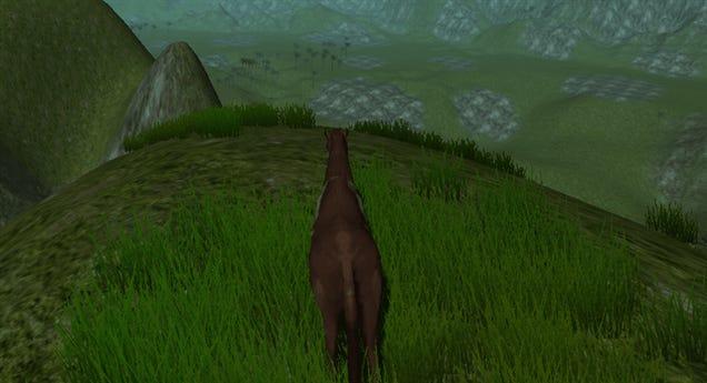 Minecraft Creator Debuts His Latest Creation, Cliffhorse