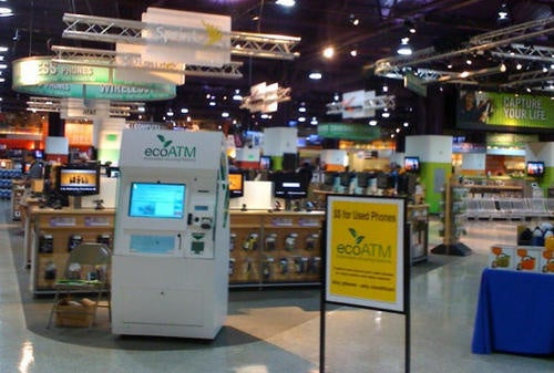 ecoATM Automates Cellphone Recycling Process, Dishes Out Cash (Or a Tree)