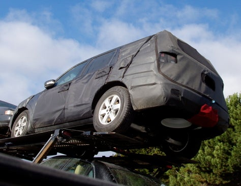 Spy Photos: 2008 Nissan Pathfinder in Pleather?