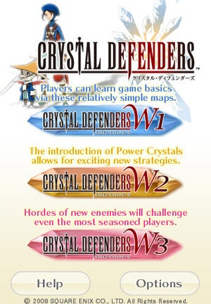 Crystal Defenders Final Fantasy Game Hits iPhone