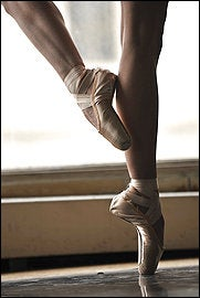 Ballet Shoes Feeling Extra Painful