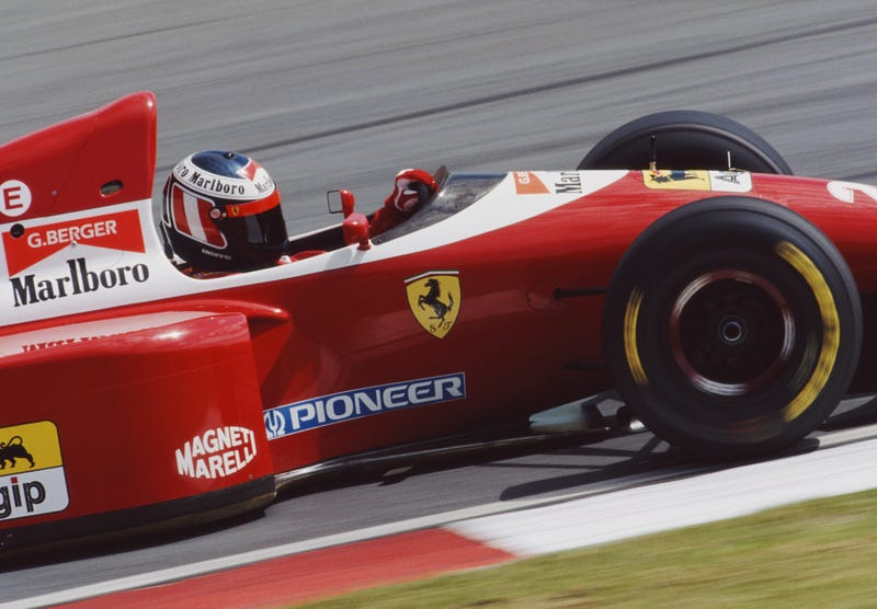 Ferrari Might Go With This Super-Tasteful Retro F1 Livery: Report