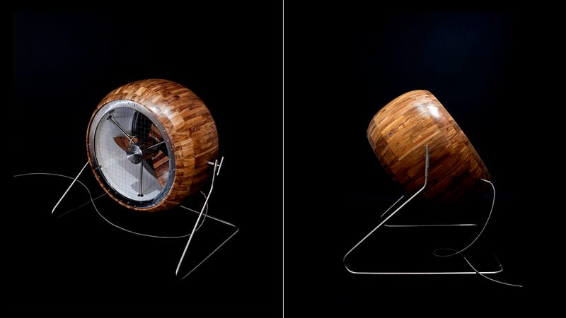 Blow the Scent of Failure From Your Life With a Big Wooden Fan