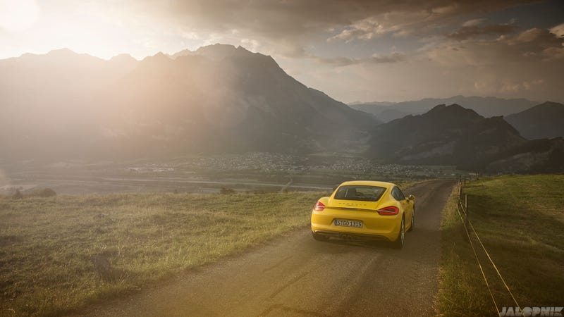 The Most Gorgeous Photos Of A Porsche Cayman You Will Ever See