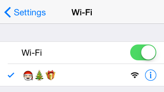 Make Your Home Network More Festive with a Santa Emoji