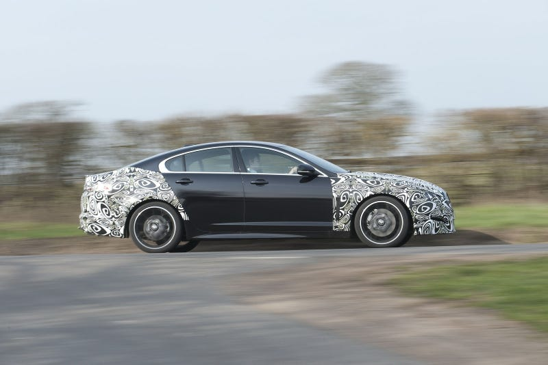 2012 Jaguar XF shows off newish nose, 2.2-liter turbo diesel engine