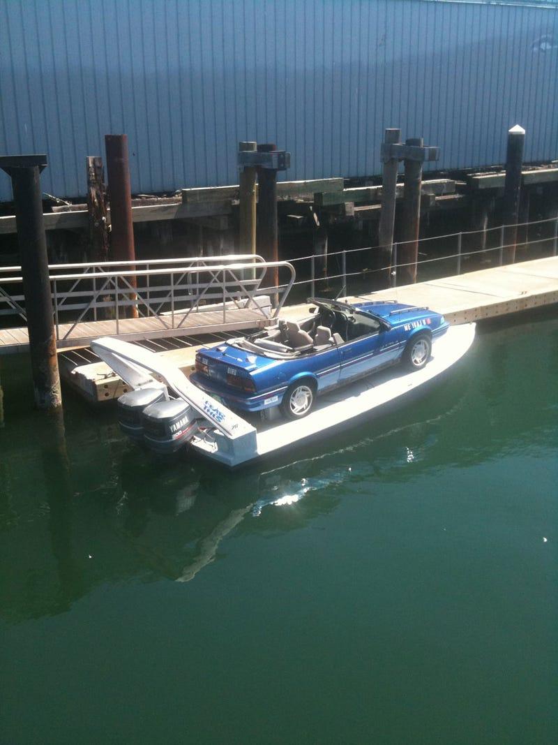 Pontiac Sunbird Boat: Car Boat Pictures
