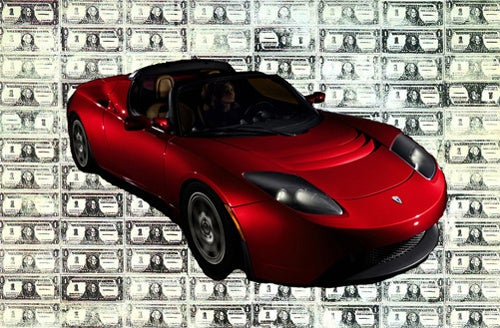 Lease A Tesla Roadster For Just $1,658 Per Month