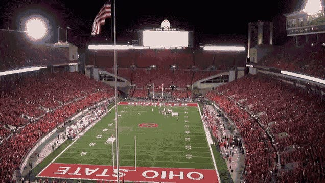 Ohio State Football Game Makes One Mesmerizing Timelapse Video