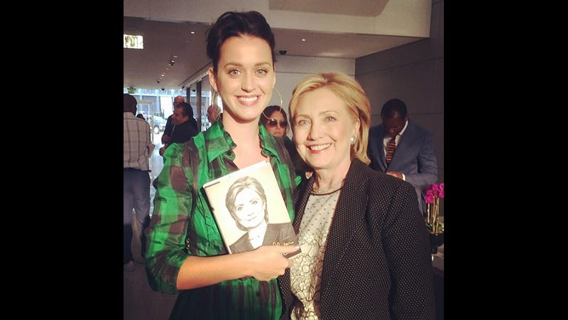 Katy Perry Offers to Write Hillary Clinton's Campaign Theme Song