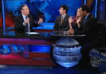 The Daily Show's Great Obama Death Panel Debate