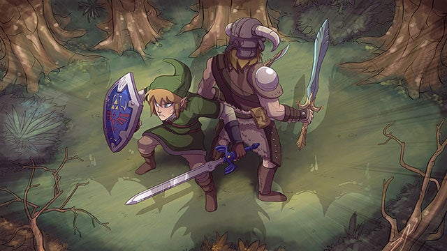 Don't Worry Link, Dragonborn's Got Your Back