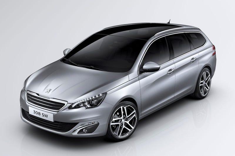 Meet the new Peugeot 308 wagon!