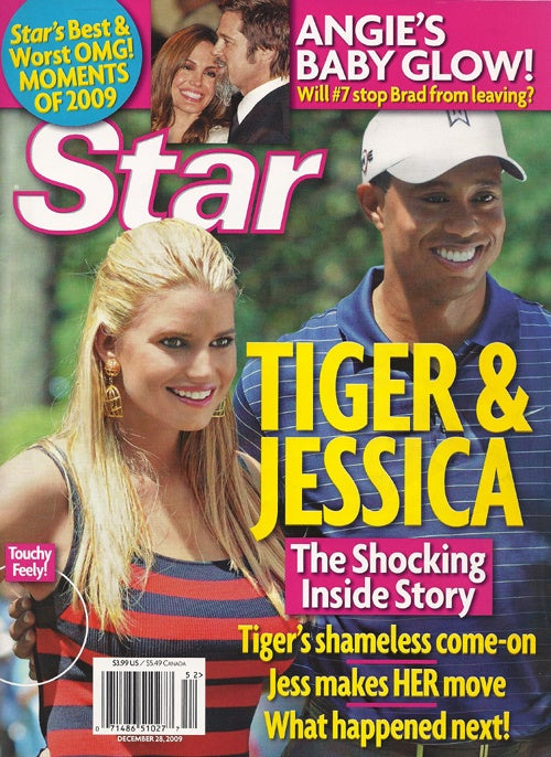 Does Tiger Woods Not Sell Magazines Covers Because He's Black?