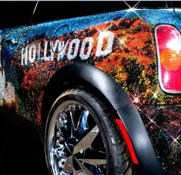 Mini Cooper Covered In One Million Swarovski Crystals... Is Proud To Be An American?