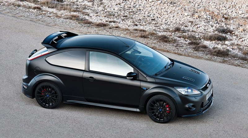 Ford Focus RS500: First Pictures