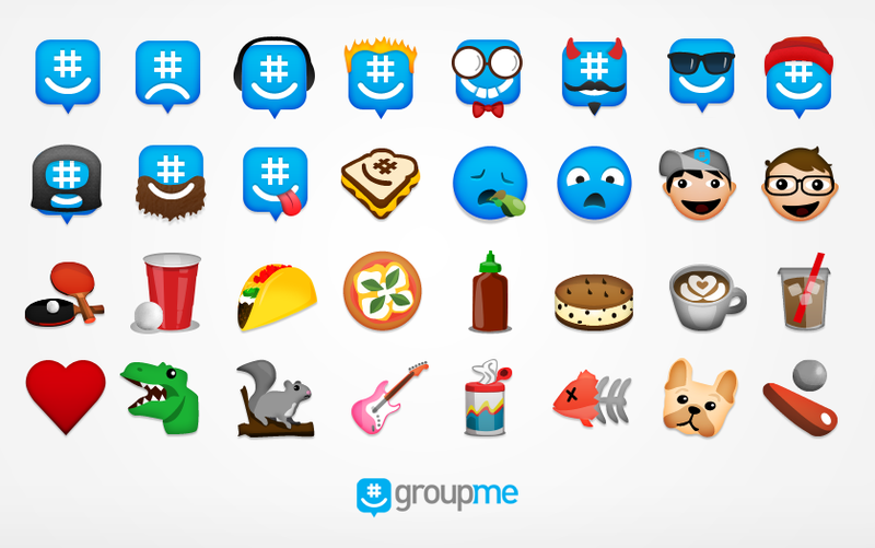 GroupMe, Still Awesome, Now with Emoji That Look Mostly Insane