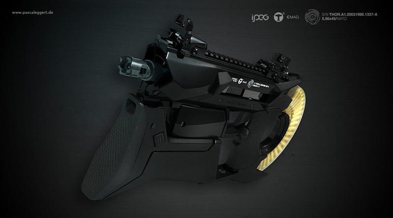 Designing Beautiful Guns For Video Games