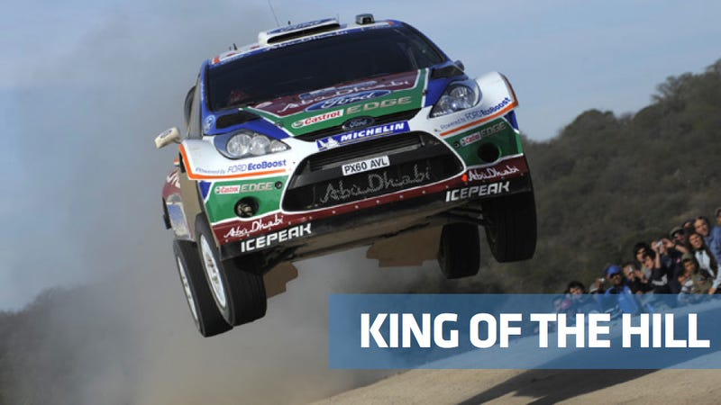 Rally is the toughest racing in the world