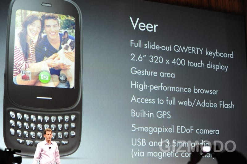 HP Veer Is a Tiny, Tiny Palm Phone With a Slideout Keyboard