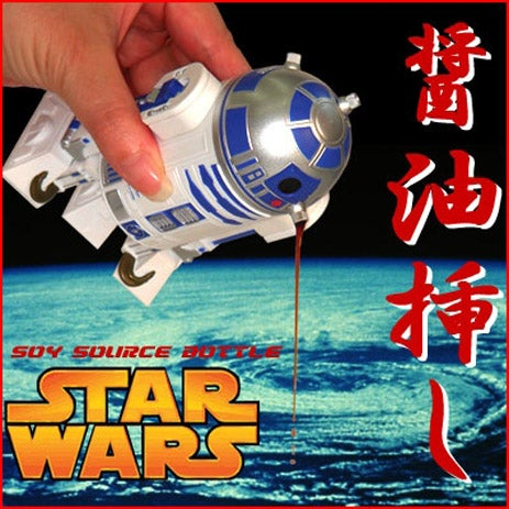 R2-D2 Soy Sauce Bottle Goes Beep Beep At Your Sodium Intake