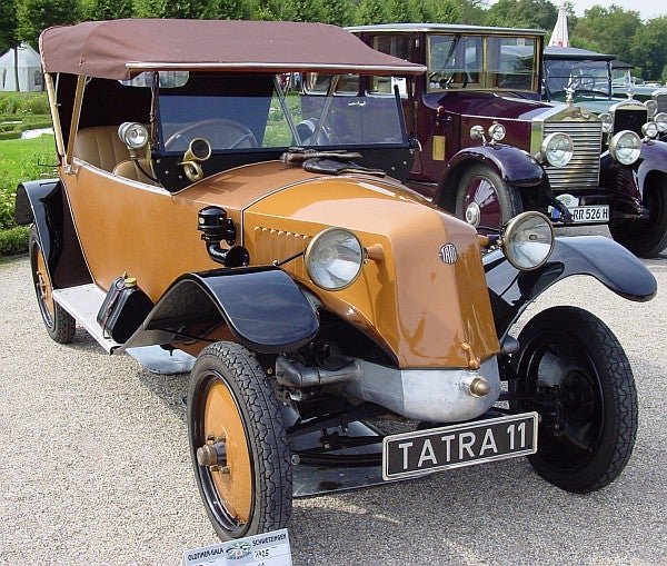 This is a Tatra T11