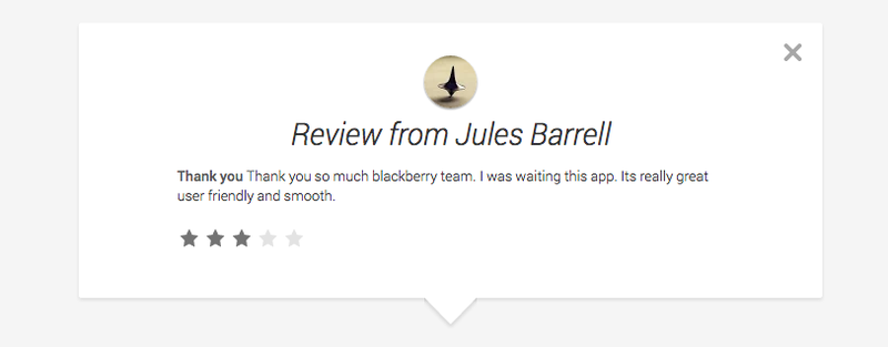 Why Does BBM For Android Have a Ton of Horribly Fake Reviews?