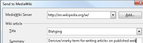 Publisher Extension Makes Wikis Editable in OpenOffice