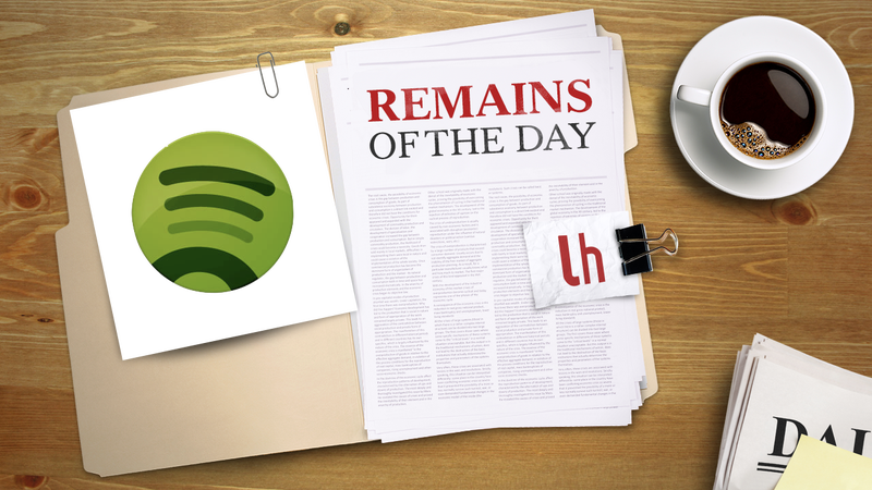 Remains of the Day: Spotify Web Player on the Way