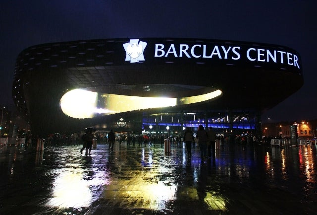 Barclays Center Guests Are Peeing Everywhere