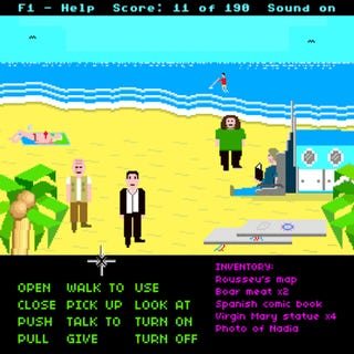 What if Lost was a 1980s point-and-click computer game?