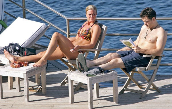 Bathing Beauty Can't Believe Matt Dillon Prefers Screenplay Over String Bikini